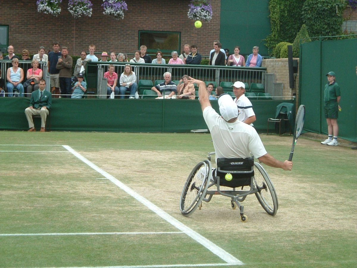 Wimbledon 2005 Wheelchair Tennis