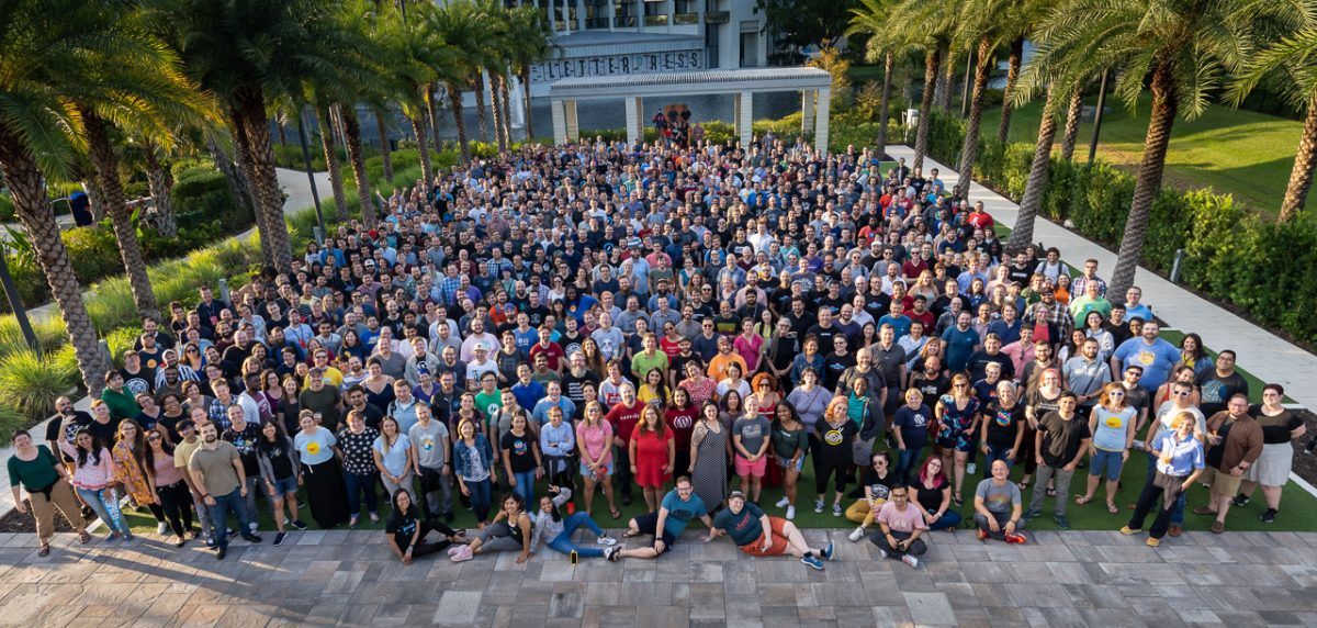 Group Photo Automattic 2019